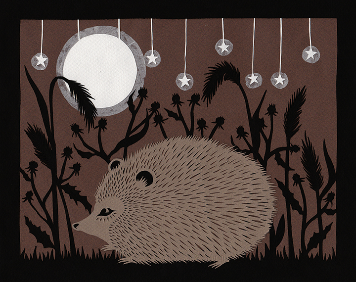 Hedgehog in the Night